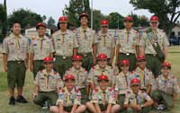 Troop 683 at 2005 IFD